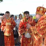 Єпископ Васильківський Миколай звершив літургію у понеділок Світлої седмиці