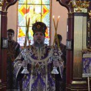 В Неділю хрестопоклонну єпископ Васильківський Миколай звершив літургію в нашому храмі